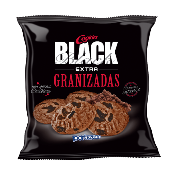 Galletas Cookies Black extra granizadas