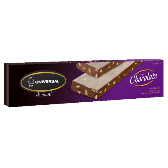 Nougat de maní chocolate Universal