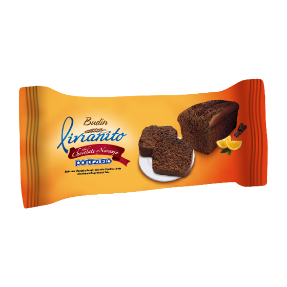 Budín Livianito Chocolate y Naranja