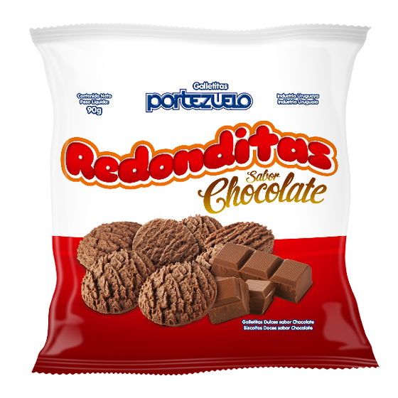 Galletas Redonditas chocolate