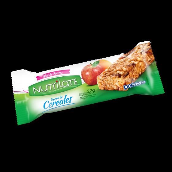 barra de cereal mix de frutas