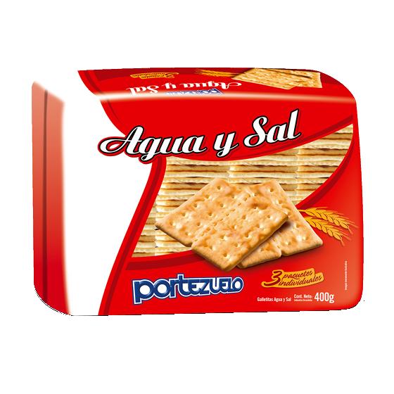 galletas agua y sal