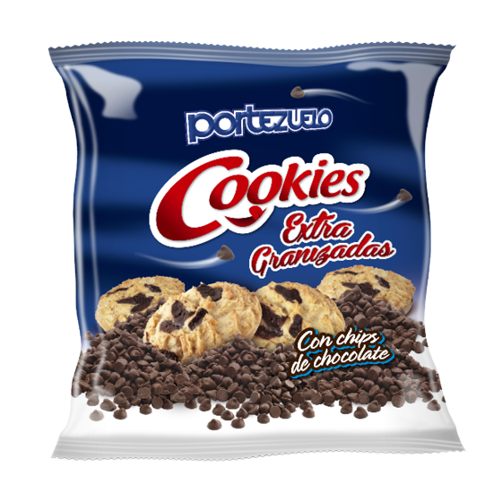 Galletas Cookies extra granizadas